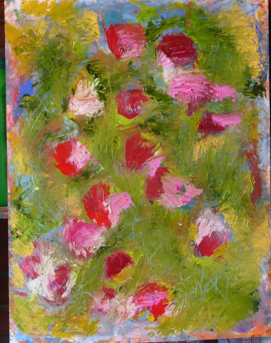 Fiori di campo for Fiori dipinti a olio